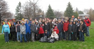 Students, Parks Staff and WCNA Members add trees to WCNA Parks